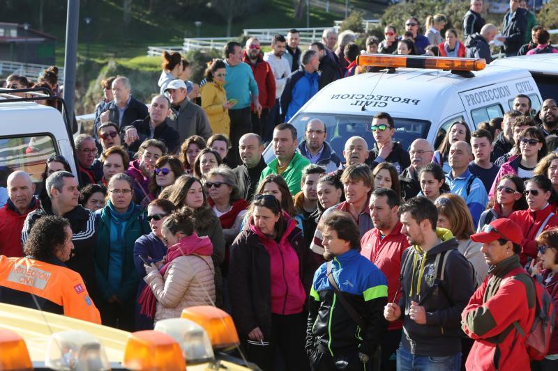 Más de 300 personas buscan a Concepción Barbeira en Castrillón