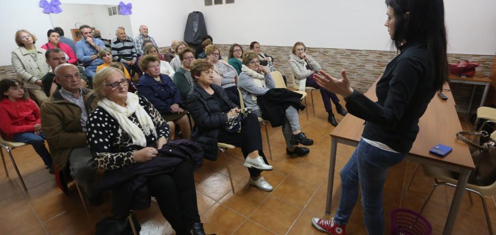 Charla sobre violencia de género en San Martín