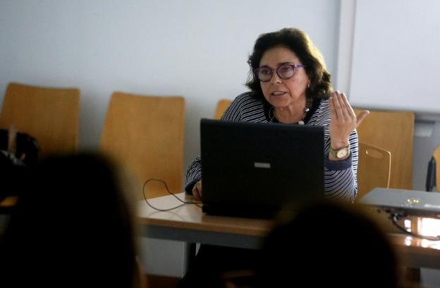 Adonina Tardón. /  PABLO LORENZANA