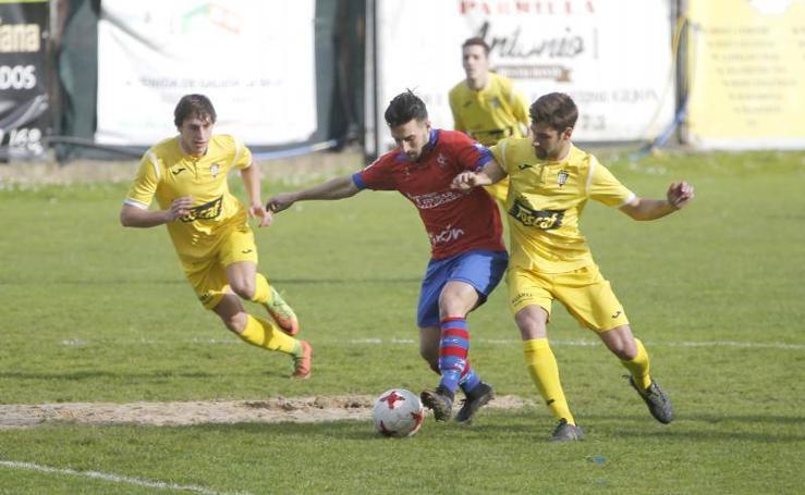 Ceares 1-1 Praviano, en imágenes