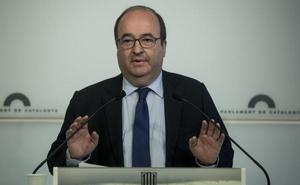El PSC volverá a pedir amparo al Constitucional «para poner en marcha el reloj» de la investidura