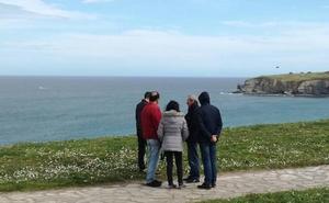 El padre de Lorena Torre participa un día más en la búsqueda de la gijonesa