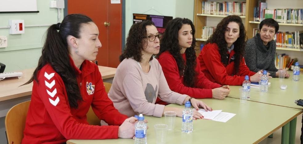 Los alumnos del Evaristo Valle reflexionan sobre el papel de la mujer en el deporte