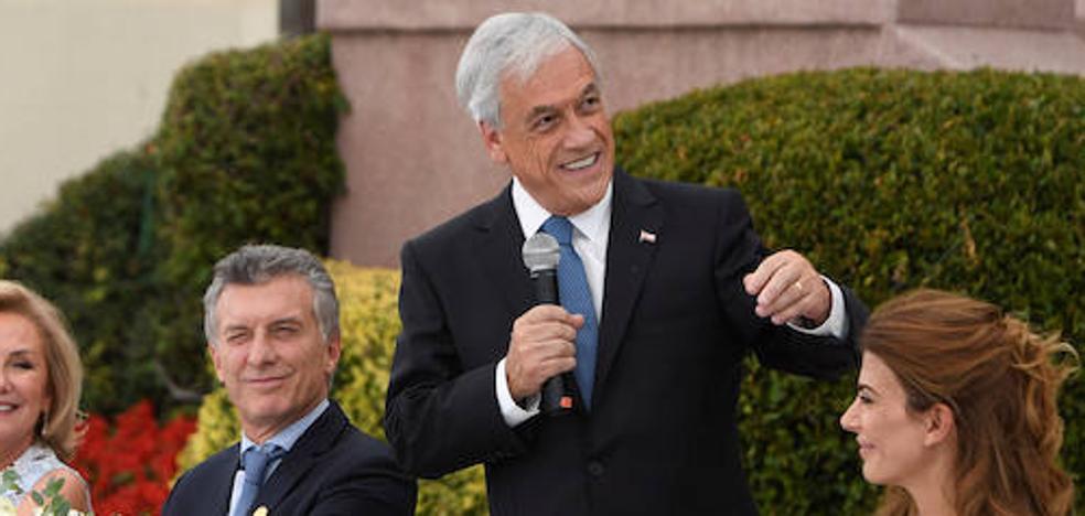 El conservador Piñera es investido por segunda vez presidente de Chile