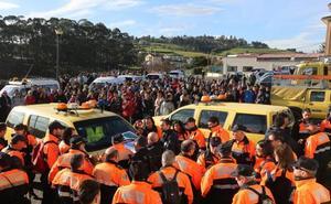 300 personas tras la pista de Concepción