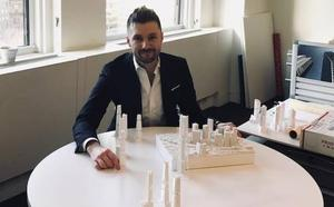 El castrillonense que diseña rascacielos