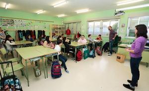 El plazo para solicitar plaza en un centro escolar irá del 16 al 27 de abril