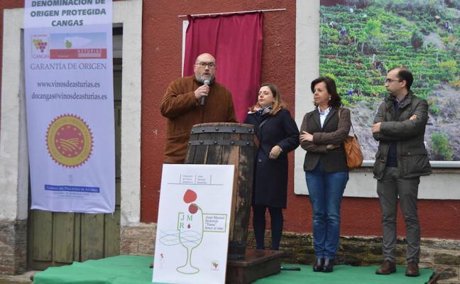 Se cumple el sueño de Juan Manuel Redondo, expresidente de la DOP Vino de Cangas