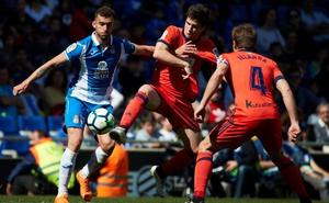 El Espanyol gana a la Real Sociedad y la supera en la clasificación