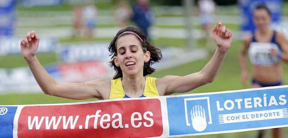Paula González renueva el título nacional de cross