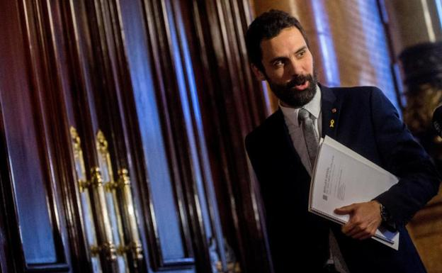 El presidente del Parlament, Roger Torrent. /Efe