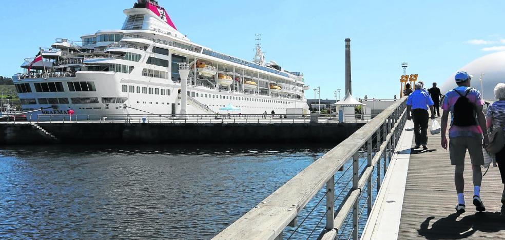 El crucero 'Braemar' realizará cinco escalas en Avilés el próximo año