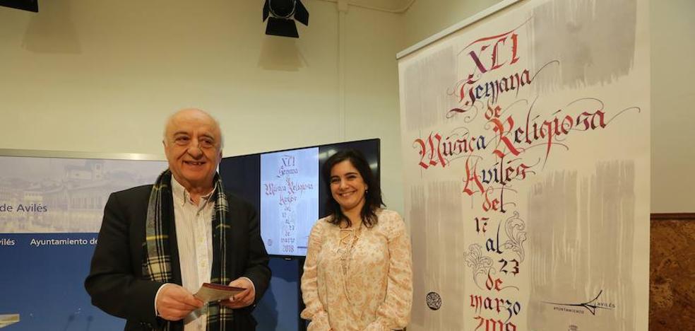 La XLI Semana de la Música religiosa de Avilés ofrecerá cinco conciertos, uno de ellos estreno mundial