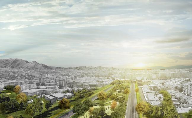 La primera fase de obras del bulevar de entrada a Oviedo afectará al tramo entre Ángel Cañedo y Rubín
