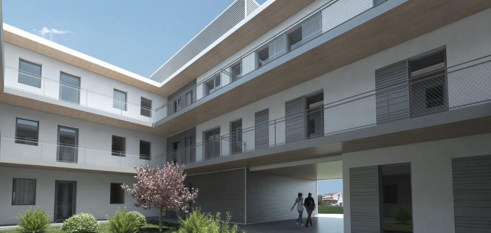 Los pisos públicos de Muros tendrán calefacción por aire y triple acristalamiento