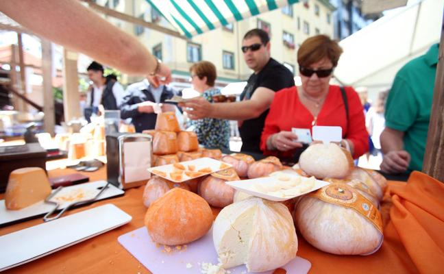 'Quiero Quesarte', la feria que animará Gascona este domingo