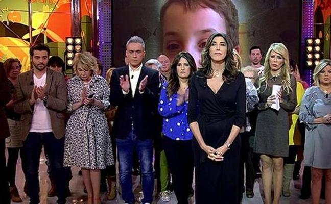 Aluvión de críticas a 'Sálvame' por su cobertura de la muerte de Gabriel