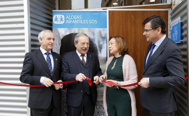 Aldeas Infantiles inaugura su centro de día en Vallobín, con capacidad para 40 niños