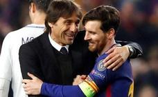 Conte: «Messi es un súper top que marca la diferencia»