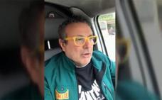 Detenido por conducir sin carné ni cinturón el hombre que se burló del 8-M