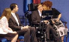 Los lazos que unieron a Stephen Hawking con Asturias