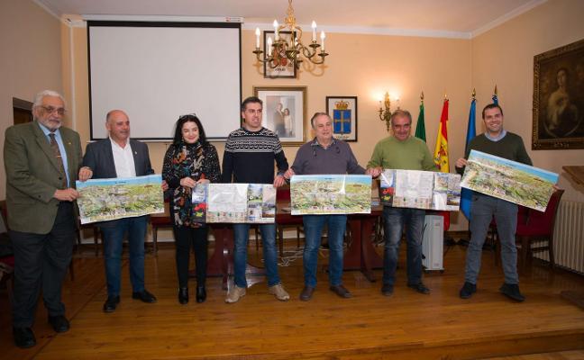 Un mapa de Picos aúna por primera vez rutas y servicios de las tres vertientes