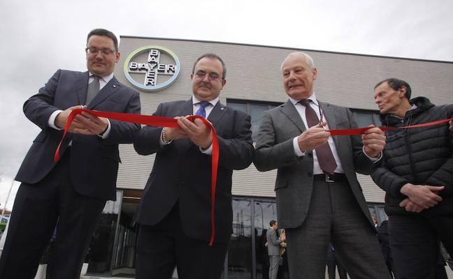 Bayer anuncia una inversión de 4,5 millones en la planta de La Felguera