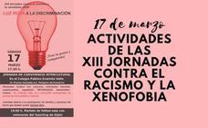 Participa este sábado en las actividades de las XIII Jornadas contra el Racismo y la Xenofobia