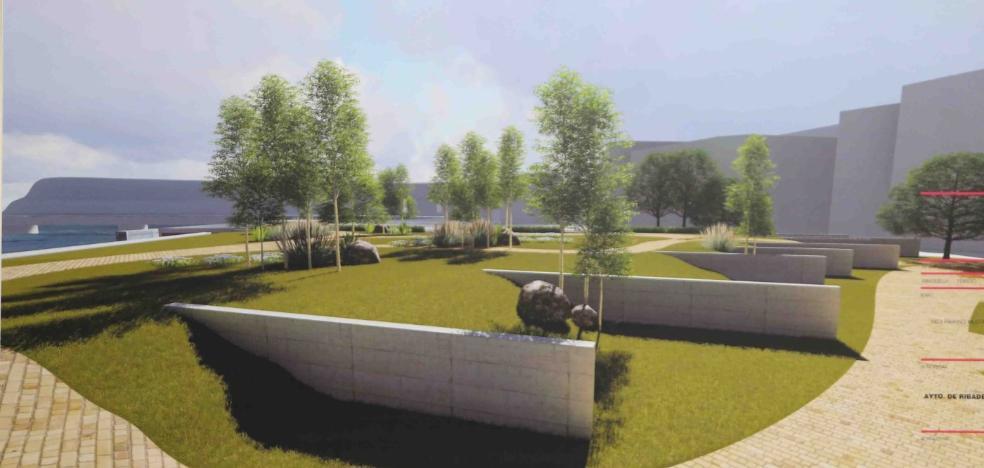 El Campu les Rolles tendrá una plaza a la altura del puente de Ribadesella