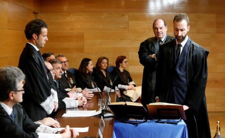 El colegio de Abogados de Oviedo celebra la jura de nuevos abogados