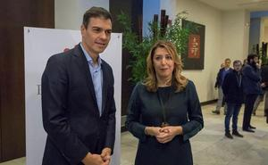 Susana Díaz planta a Sánchez y no asistirá a la escuela del PSOE en Madrid