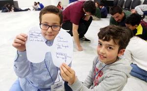 Los escolares quieren un Oviedo más ecológico