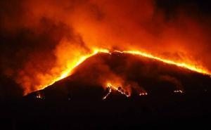 Cuatro concejos de Asturias están este sábado en riesgo 'muy alto' por incendios forestales