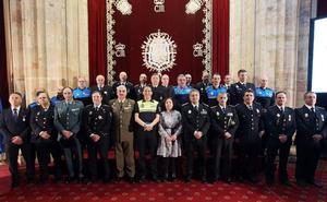 Medallas al buen servicio de la policía