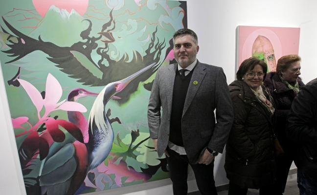Manu Muñoz estrena sala en Oviedo y la nueva figuración llega a Gijón