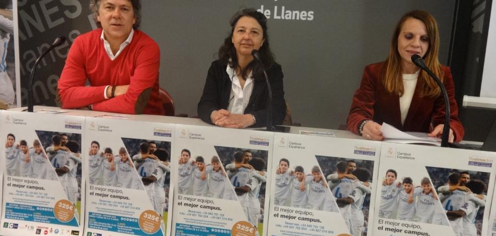 El Real Madrid abrirá en julio un campus de fútbol en Llanes