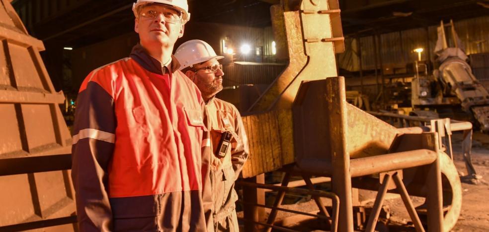 La factoría gijonesa de Arcelor tiene dos meses para adoptar mejoras que aporten rentabilidad