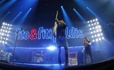 Derroche de rock con los Fitipaldis en Gijón