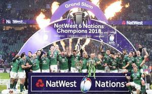 Irlanda hace historia al lograr el tercer Grand Slam de su historia