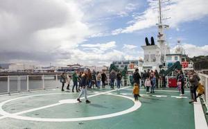 El patrullero 'Río Segura' regresa a Asturias