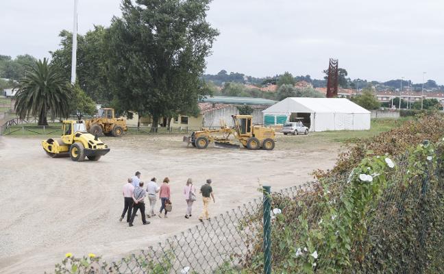 El cierre del club por Justo del Castillo sigue intacto pese a ocupar terrenos municipales