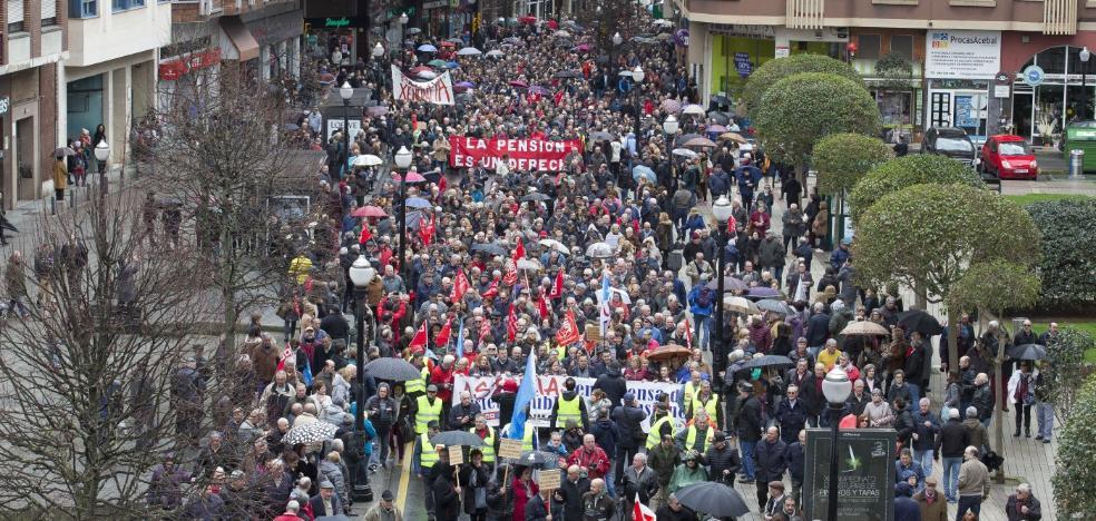 Los pensionistas asturianos llaman a «ocupar las calles y plazas»