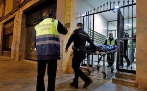 Hallan los huesos de una persona emparedados en un piso de Valencia