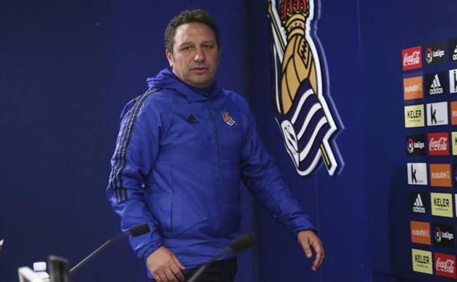 La Real Sociedad rescinde el contrato de Eusebio, al que sustituye Imanol Alguacil