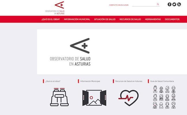 El Observatorio de la Salud, premio a la Mejor Web de Asturias
