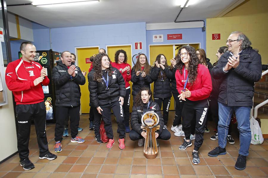 El Hostelcur llega a Gijón tras su triunfo