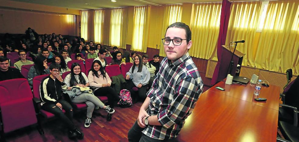 Masterclass con Sebastián G. Mouret en el IES de Salinas
