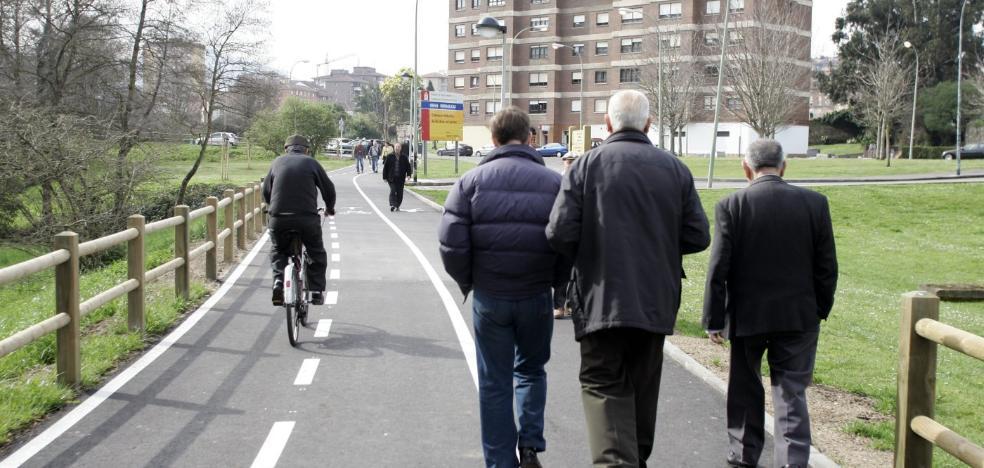 El Puerto diseña un plan para unir Avilés y Castrillón con carril bici