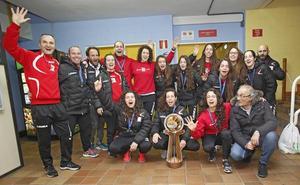 Hostelcur Gijón   «Sí, sí, sí, la Copa ya está aquí»