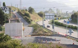 El avance de las obras de los accesos al HUCA obliga a desviar el tráfico de la AS-II en dirección a Gijón